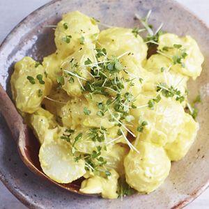 Recept - Jamies aardappelsalade met knoflookmayonaise - Allerhande