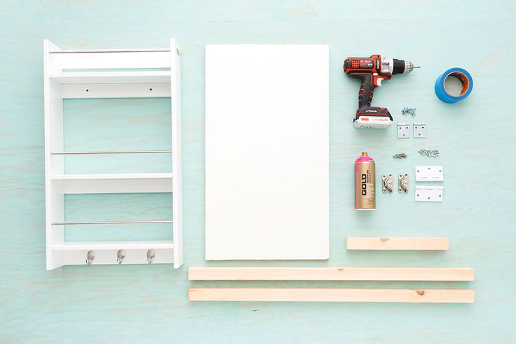 You Need This DIY Murphy Bar in Your Life ASAP via Brit + Co
