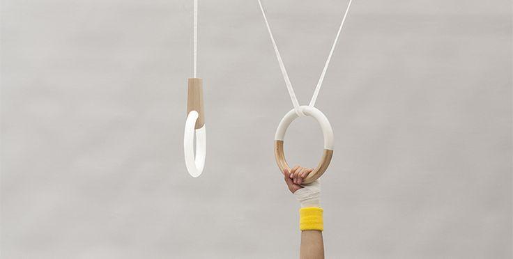 Marta Polenghi rediseña lámpara de polea que ajusta su altura