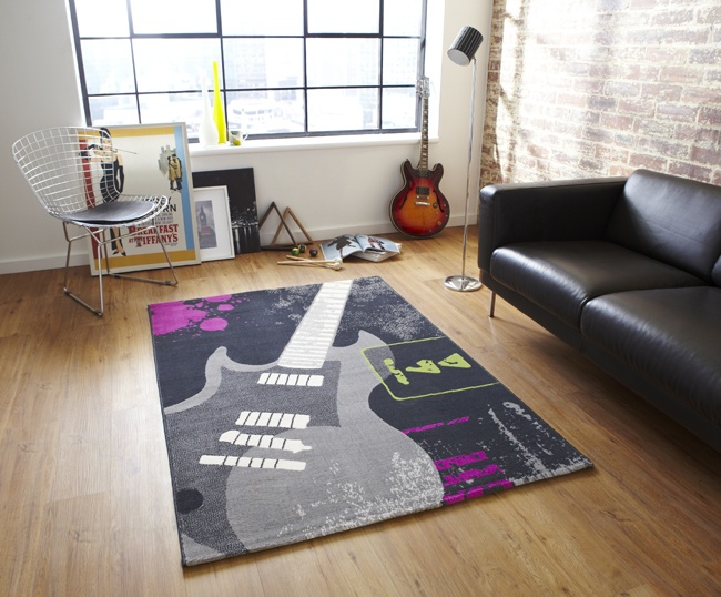 This guitar rug would rock in a kids or teenagers bedroom  or even a music. 17 Best images about For Kids   Teenagers on Pinterest   Popular