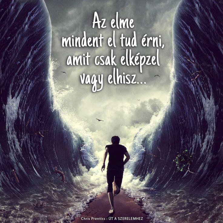 Chris Prentiss idézet a képzelet és a hit erejéről. A kép forrása: Édesvíz Kiadó