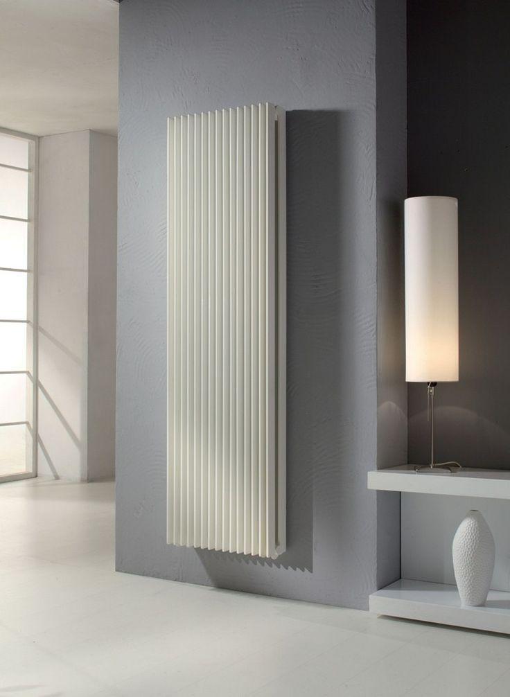 Radiatore verticale in acciaio verniciato a polvere a parete KEIRA VT TANDEM - CORDIVARI