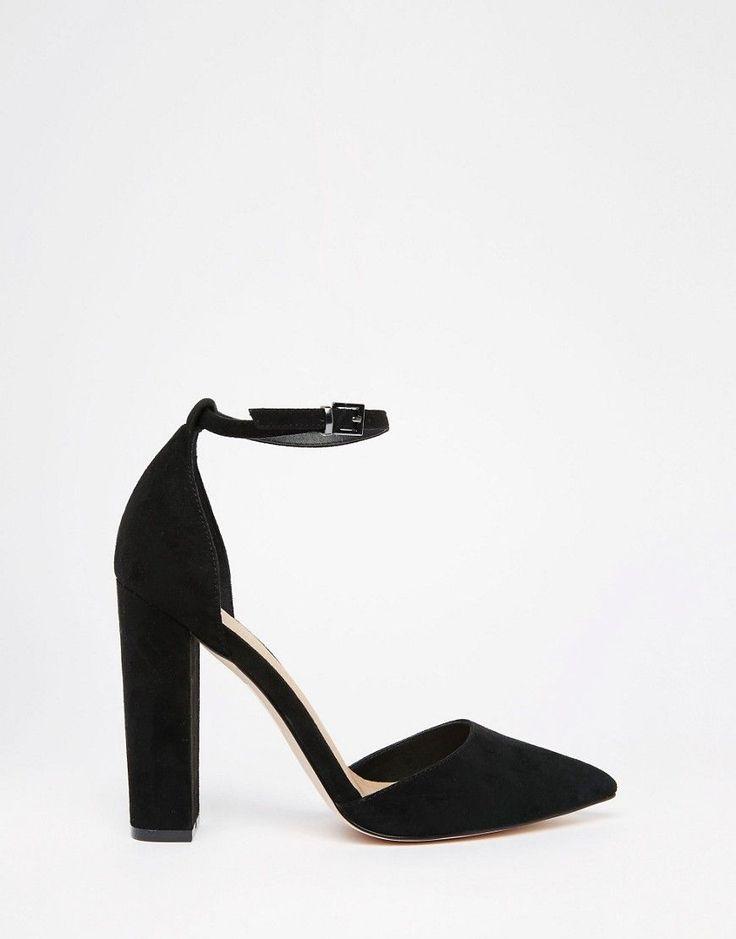 Image 2 ofASOS PENALTY Pointed High Heels