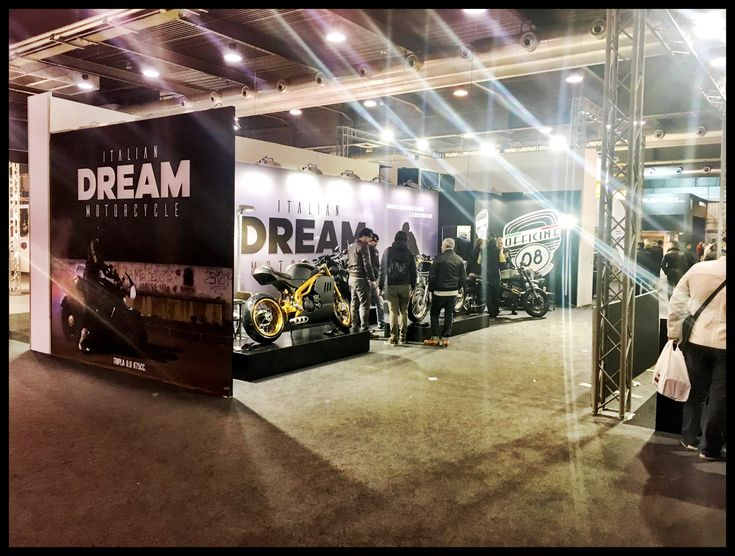 Our Stand In Moto Bike Expo in Verona. #motorcycles #special #caferacer #motorbike #triumph #suzuki #italiandreammotorcycle #idm #style #fashion #exibition