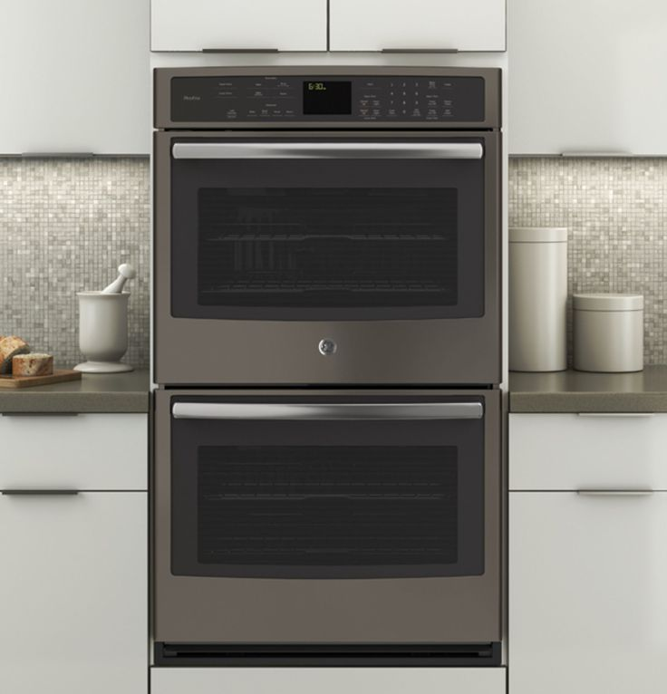 Best PTEHES GE Profile Series Built In Double Wall Oven with Convection