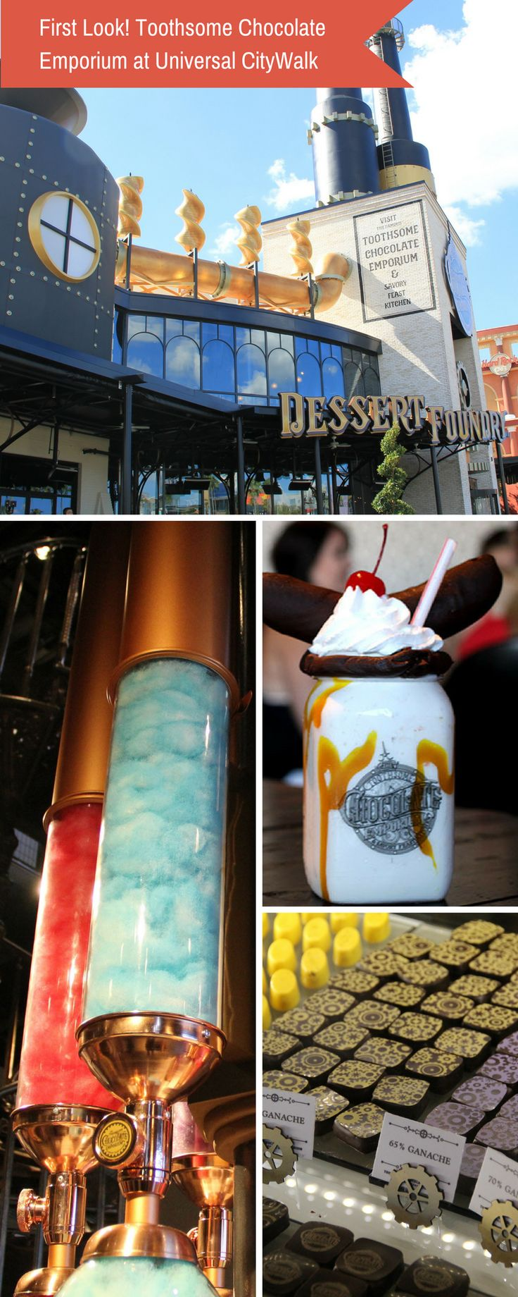 First Look: Toothsome Chocolate Emporium at Universal CityWalk!