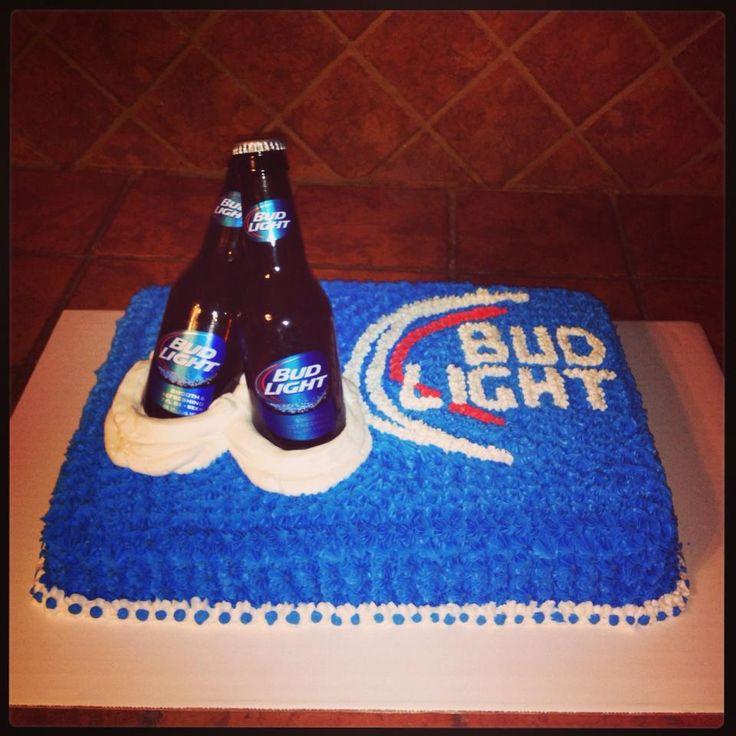 Bud Light Cake My Cakes Bud Light Cake Birthday Cakes