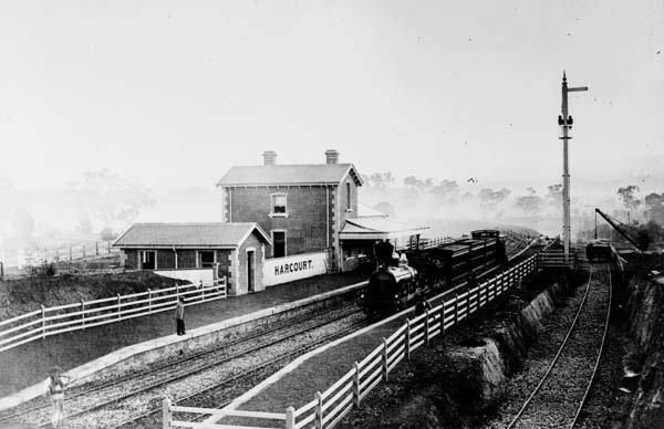Image result for harcourt railway station victoria