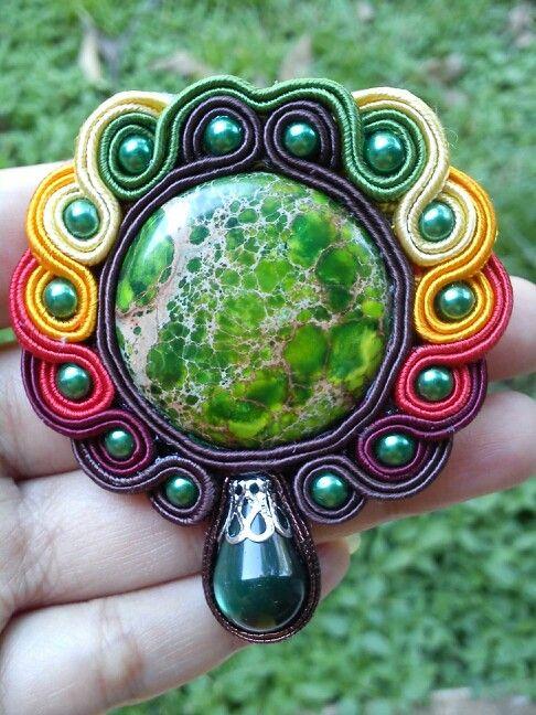 Green jasper gradasi by vikkie