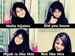 Hijab Is Not Like this