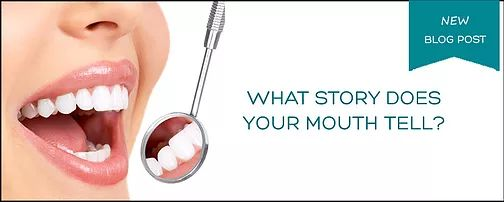 6 Stories Your Mouth Can Tell | Family Dentist | Northern Alberta | Slave Lake Dental - DENTISTS AREN'T JUST LOOKING FOR CAVITIES at your routine checkup. A quick examination of your mouth can reveal a lot more about your oral and overall health than you think. The dentist may even discover some of your quirky habits!