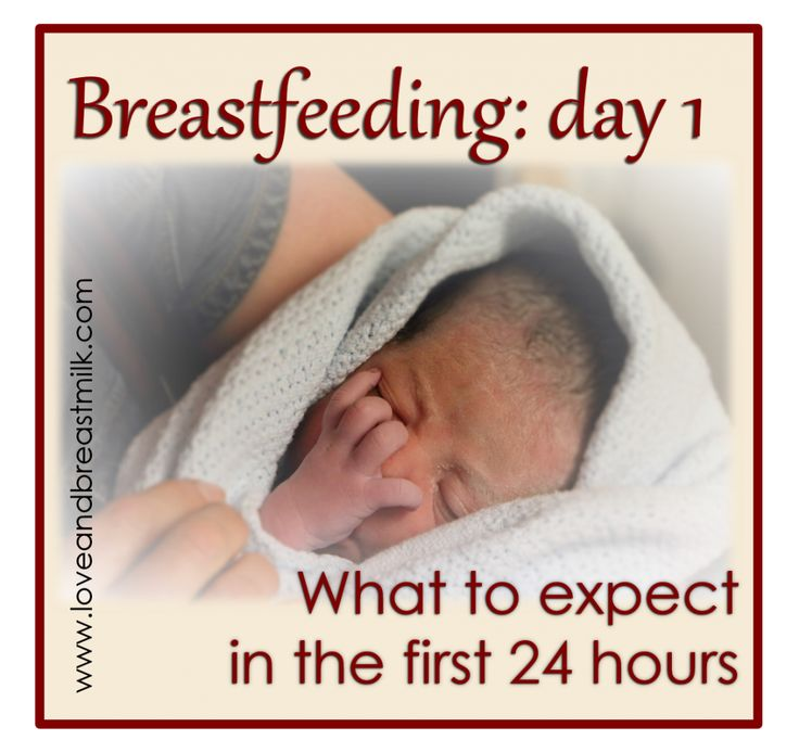What to expect and what to do in the first 24 hours. Day 1 with a new baby can be so overwhelming!