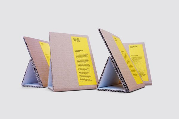 ECO — Catalogue, invitation, captions and tags by Alessio Romandini, via Behance