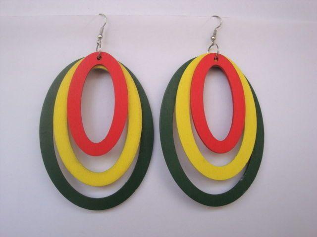 Handmade Big Oval Hoops Eardrop Women Fashion Earrings Sexy Drop Dangle Earrings #Congyang #DropDangle