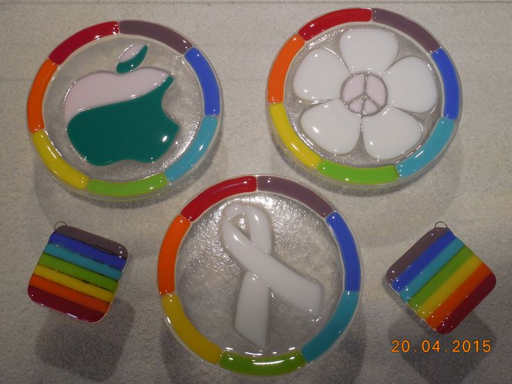 Glass Fused Medallions