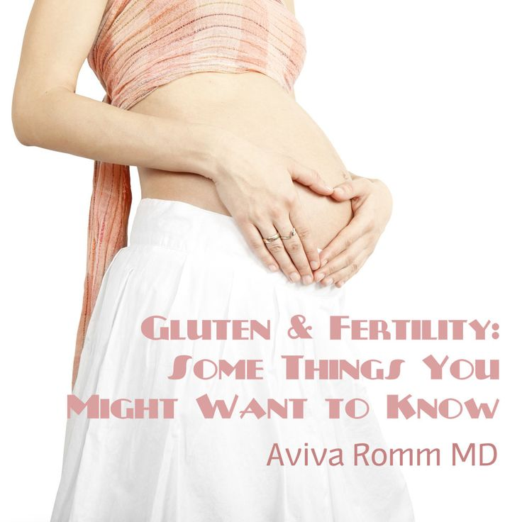 Gluten and Fertility:  Some Things You Might Want to Know Excellent info on Gluten - much more than expected - Ellie