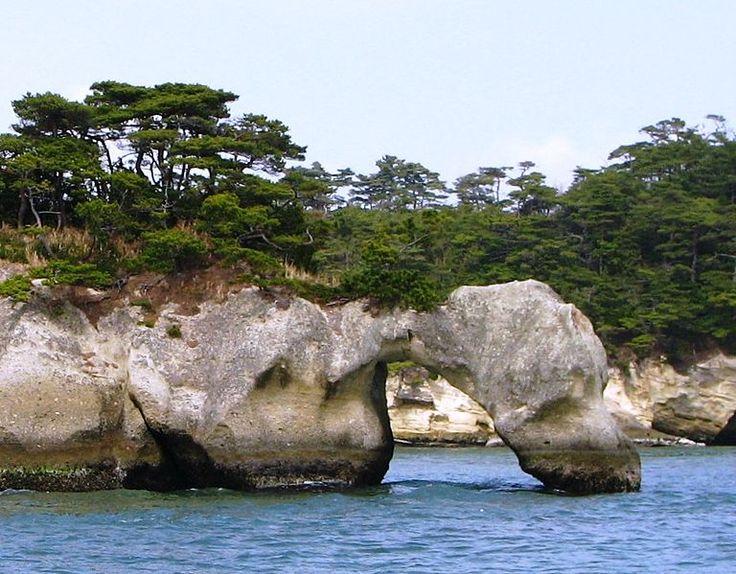 Okumatsushima, Matsushima Bay, (near Sendai) Japan before the tsunami