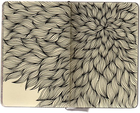 Magazine - Moleskine Drawings by Stephanie Kubo