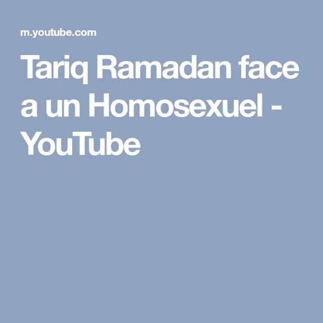 Tariq Ramadan face a un  Homosexuel - YouTube