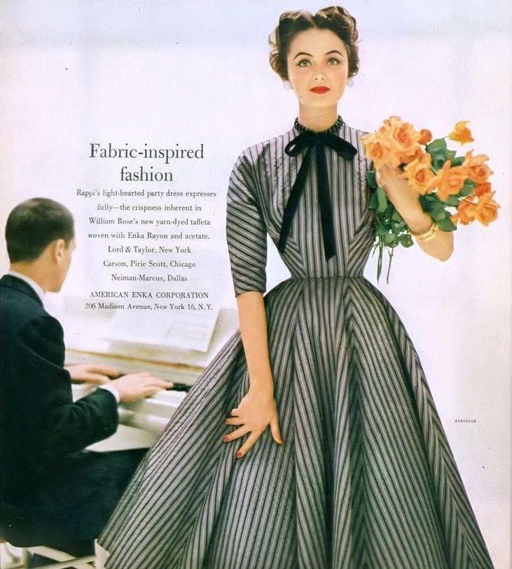 Francesco Scavullo, Glamour September 1953 | flickr skorver1