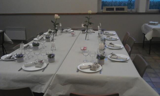 Table de baptême