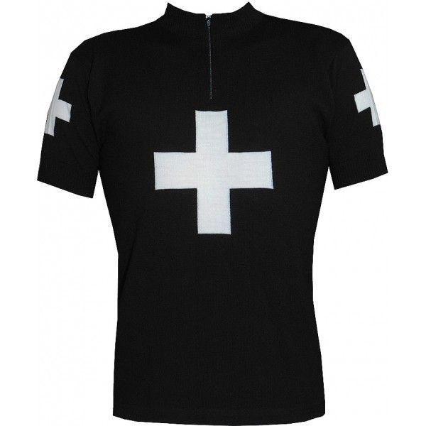 Black Cross WOOL JERSEY 125 dollars