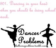 Dancer Problems