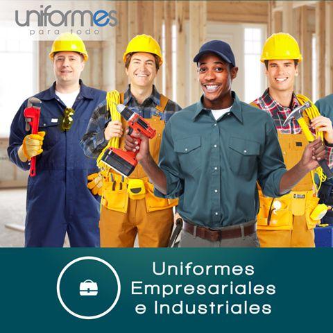 Asegúrate de que una buena imagen acompañe a tus empleados en todas sus labores diarias, visita nuestra línea de Uniformes Empresariales e Industriales en: www.uniformesparatodo.com #UniformesParaTodo #Empresas #Colombia