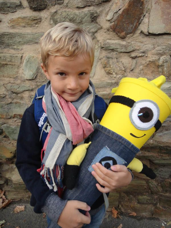 Minion Schultüte / German traditional first day of school gift