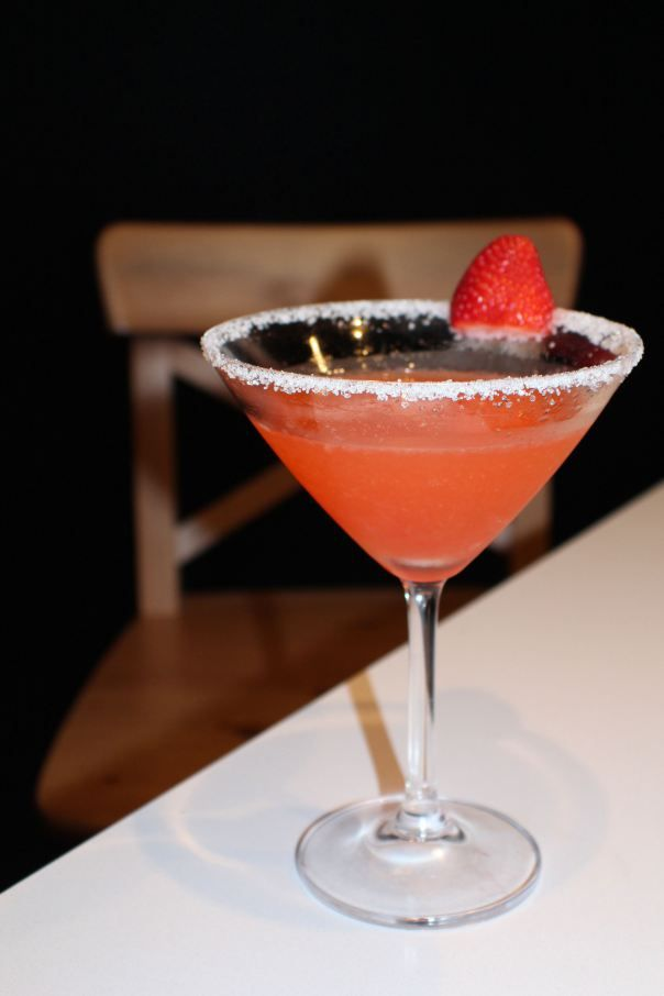 Margarita de Fresa - Strawberry Margarita