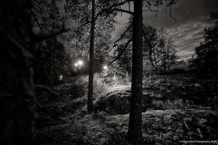 NIGHT ORIENTEERING JUKOLA STYLE — Vesa Loikas Photography
