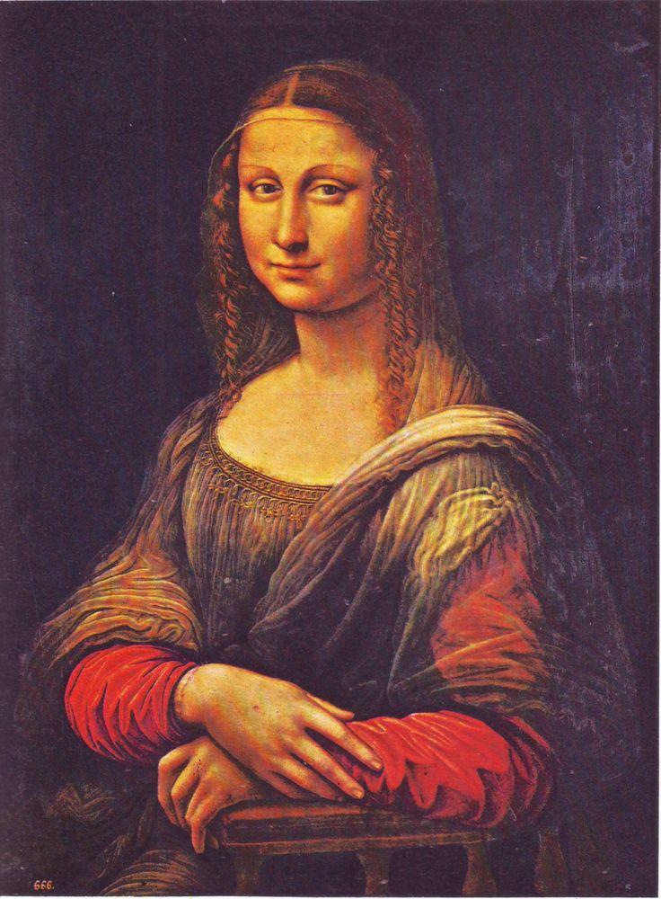 VIDA Statement Clutch - Mona Lisa Da Vinci by VIDA c0p9c3otsz