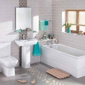 Bellways Vitra Scala Light Grey Matt Bathroom Kitchen Wall Tiles Gemini Tiles Bathroom