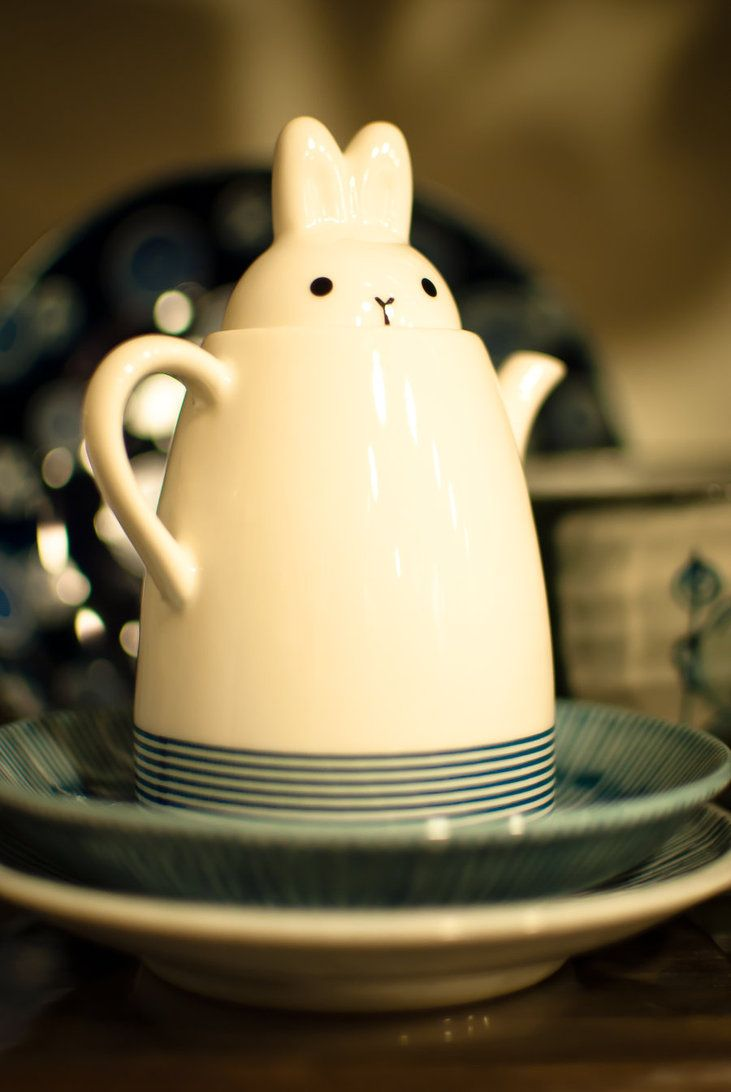 The Little Bunny Teapot by iStoleYourShiny