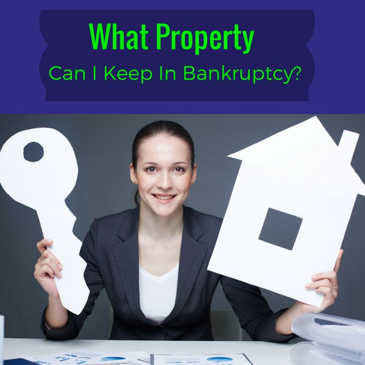 Some types of bankruptcy do not put