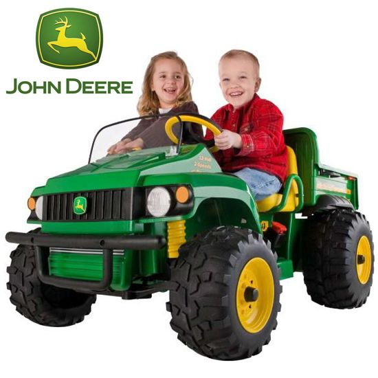 peg perego john deere 12v gator truck 52495 kids electric cars little
