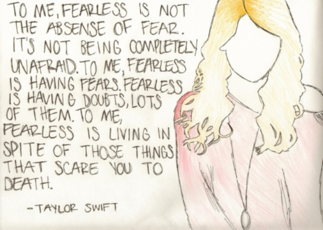 The Fearless Quote