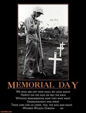 when does memorial day fall every year