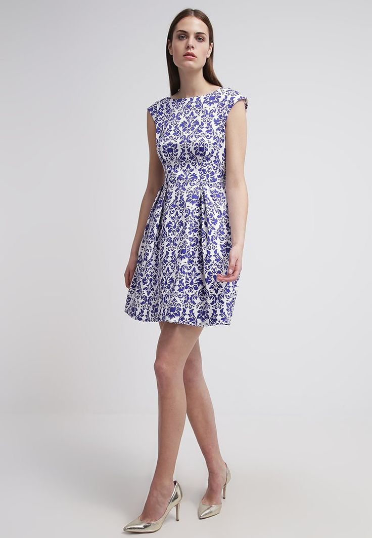Closet Sukienka letnia - blue/white za 215,1 zł (21.01.16) zamów bezpłatnie na Zalando.pl.