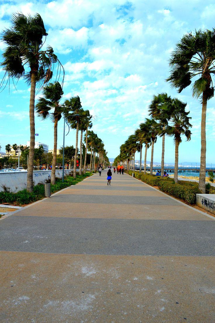 Limassol promenade, Cyprus