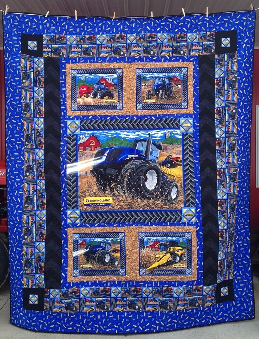 New Holland Tractor Fabric : Best new holland tractor combine fabric projects images