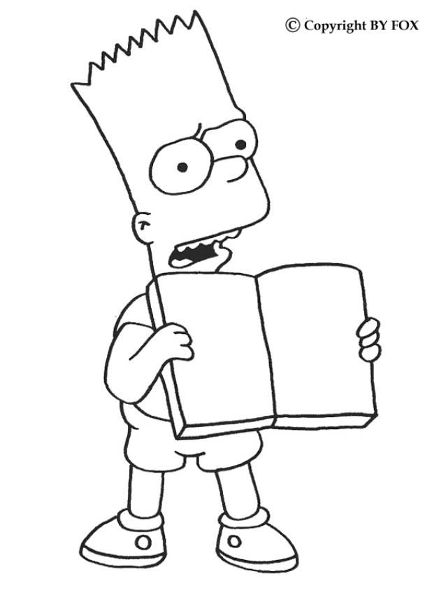 44 best coloringthe simpsons images on pinterest  the