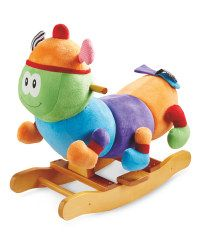 Wooden Rocking Caterpillar - ALDI UK