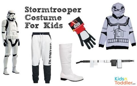 Stormtrooper Costume for Kids