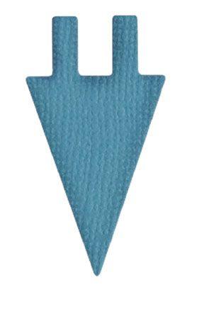 Quickutz die 2 - RS-0908 - Pennant triangular labels