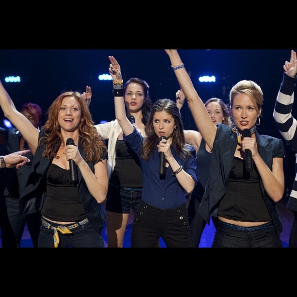 Brittany Snow, Anna Kendrick, and Anna Camp:)