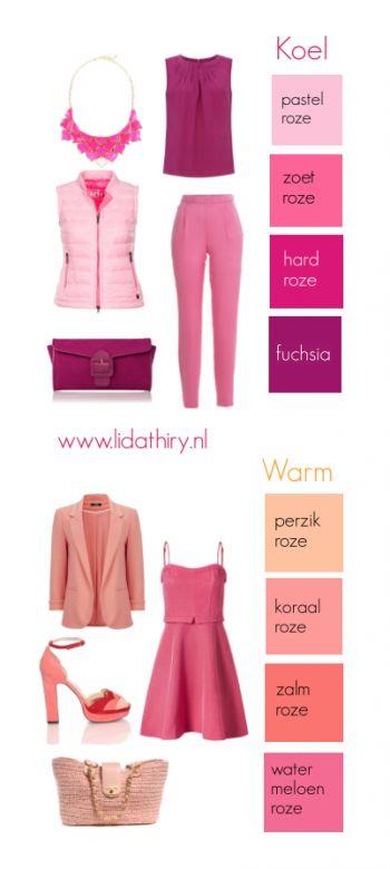 De goede kleur roze maakt jonger (2) Klik voor het blog #BesteKleurRoze