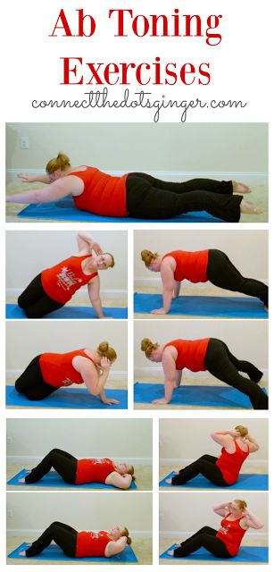 Plus size fitness | Ab toning exercises. Helping to strengthen your core after b…