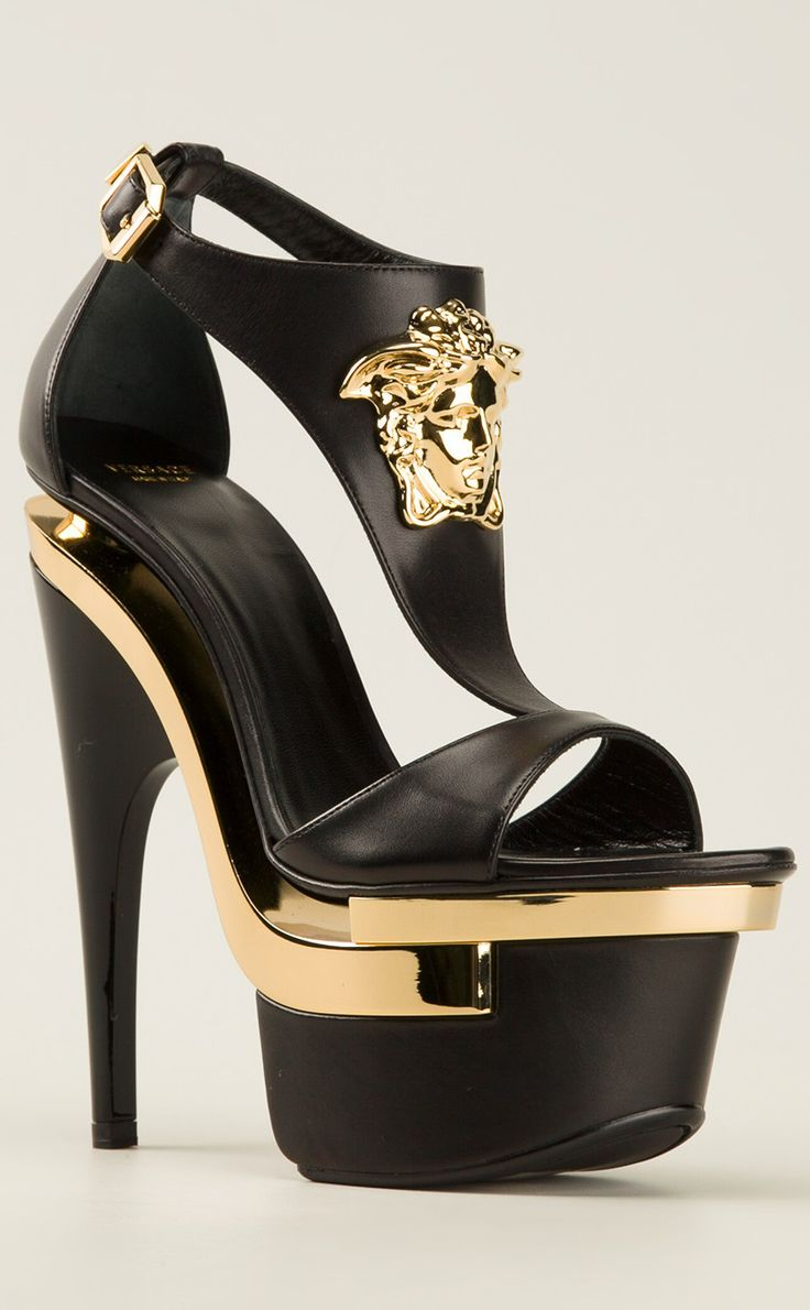 Alexander McQueen X Nicki Minaj. Love black and gold but I can't do it.