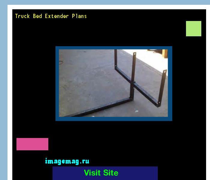Truck Bed Extender Plans 095901 - The Best Image Search